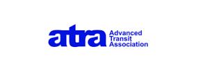 Atra white logo